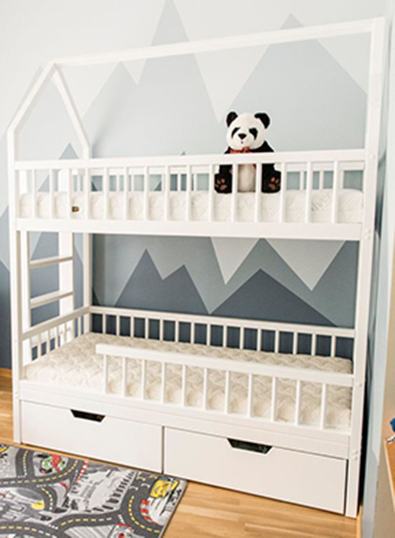 Mẫu thiết kế phòng ngủ cho bé trai từ 4 đến 6 tuổi