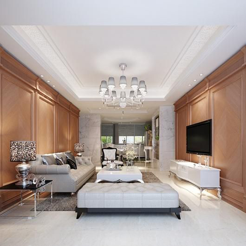 Mẫu thiết kế căn hộ chung cư 50m2 có 1 phòng ngủ