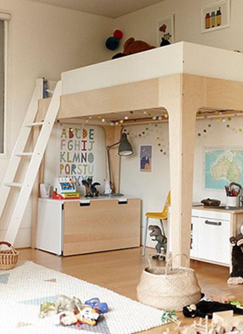 Mẫu thiết kế phòng ngủ đẹp cho bé trai từ 6 đến 8 tuổi
