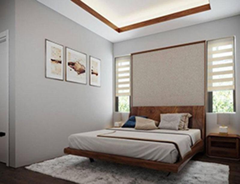 Mẫu thiết kế nội thất phòng ngủ nhỏ với diện tích từ 8m2 - 9m2