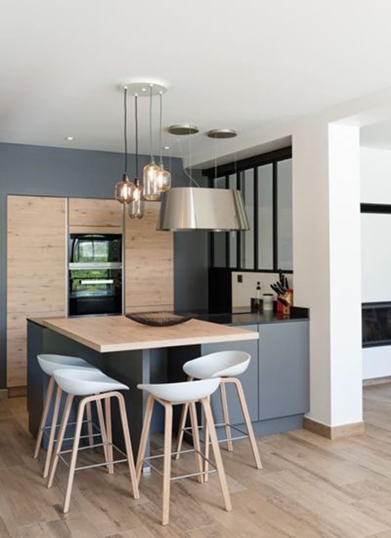 Thiết kế phòng bếp hiện đại tiện nghi