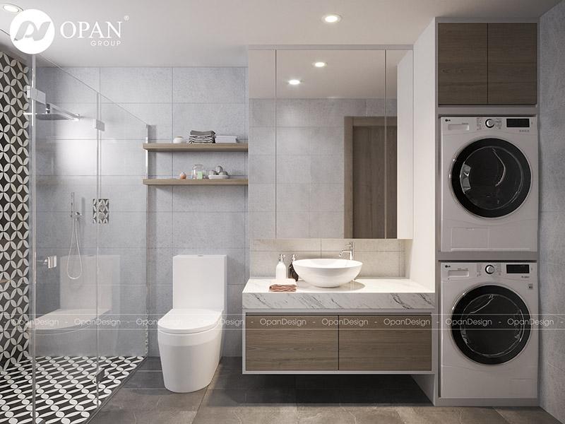 Mẫu nhà tắm thiết kế hiện đại