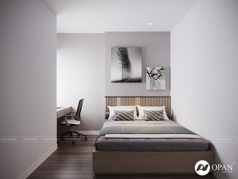Mẫu thiết kế nội thất phòng ngủ có diện tích trung bình từ 9m2 - 14m2