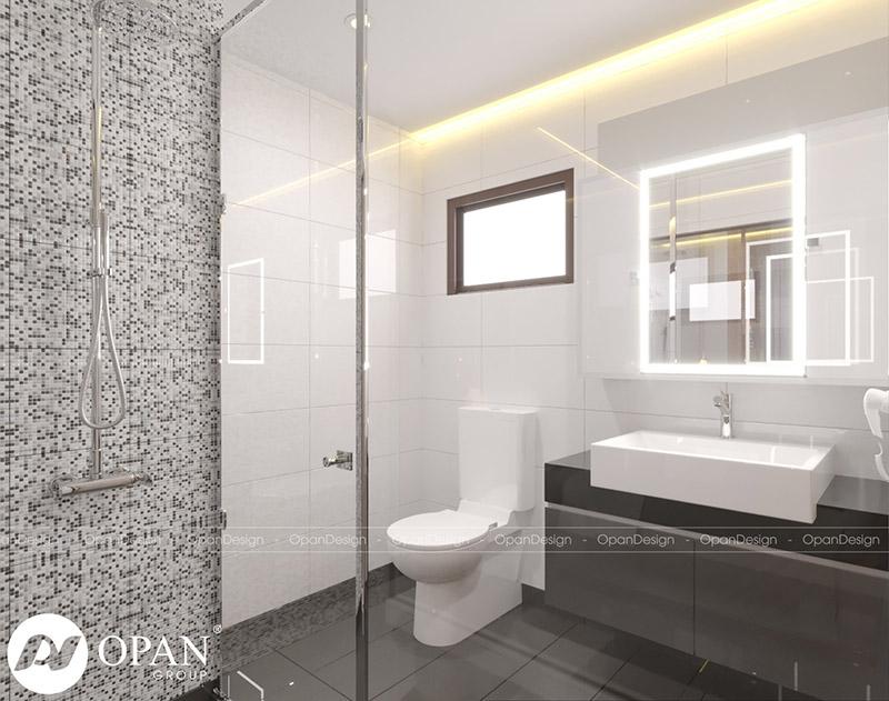Mẫu thiết kế nội thất phòng tắm, nhà vệ sinh sáng tạo