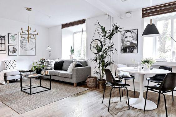 Mẫu nội thất chung cư mini 30m²
