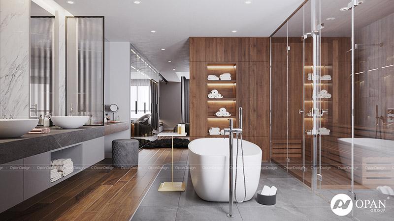 Yếu tố phong thủy trong thiết kế phòng tắm