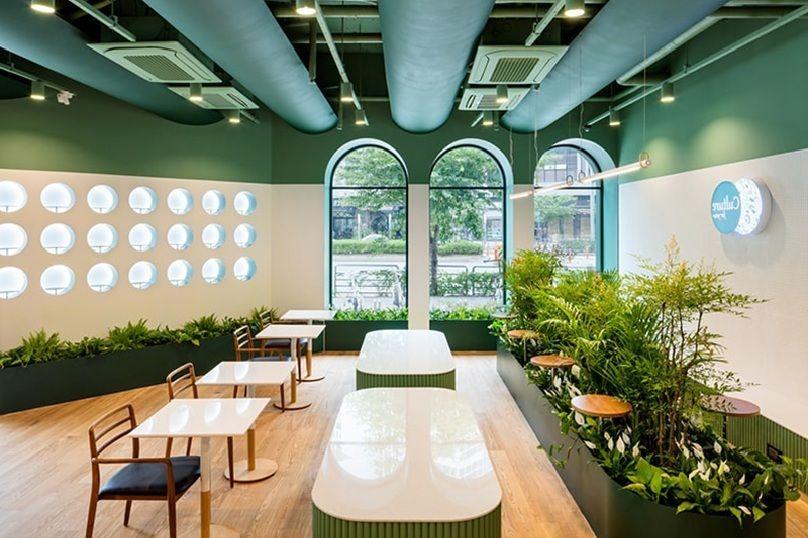 Thiết kế nội thất quán Cafe đơn giản theo phong cách Bắc Âu (Scandinavian)