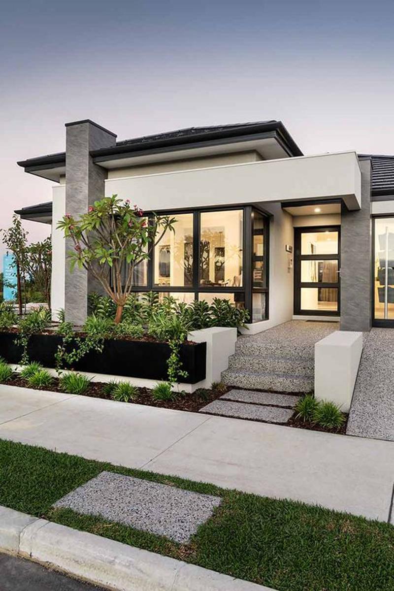 Sang trọng, cao cấp với mẫu thiết kế biệt thự nhà vườn