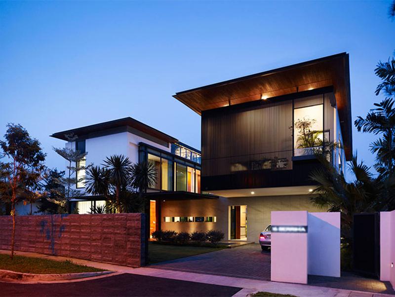 Chiêm ngưỡng thiết kế nhà biệt thự phố đẹp
