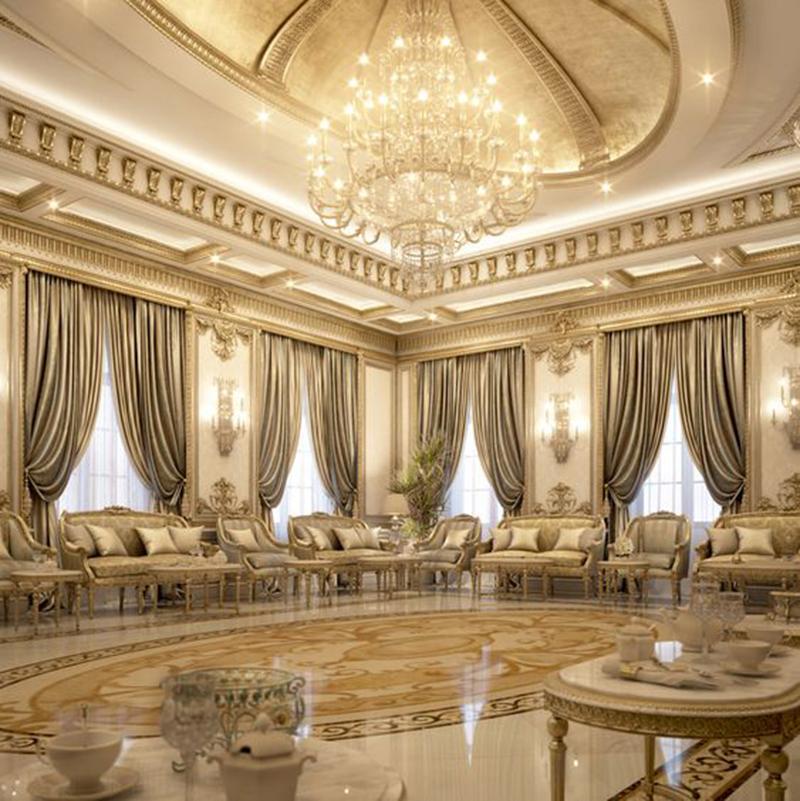 Phong cách kế nội thất biệt thự đẹp tân cổ điển sang trọng, cao cấp