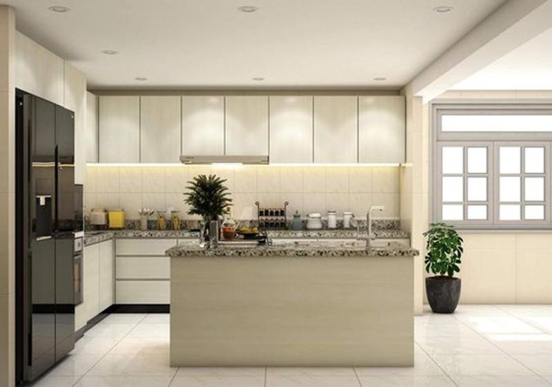 Mẫu thiết kế nội thất phòng bếp