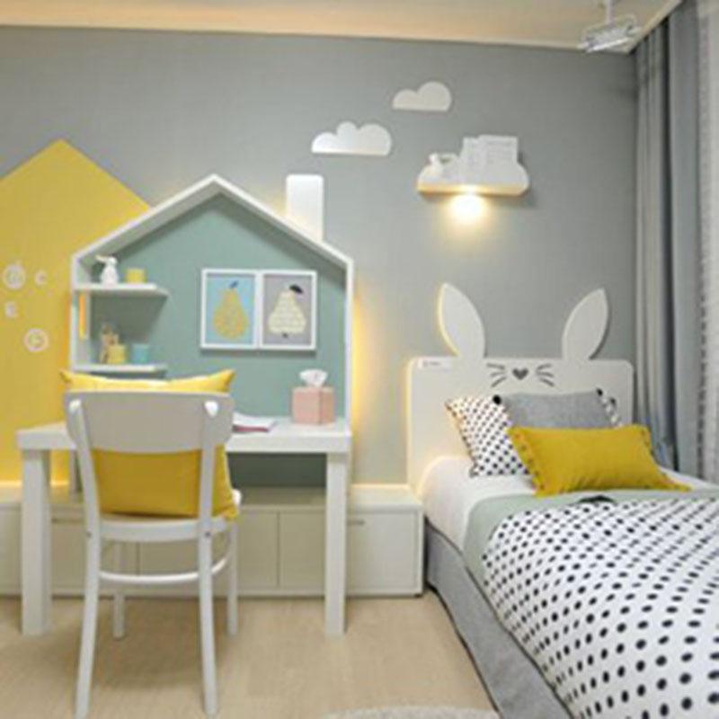 Lựa chọn màu sắc tươi sáng cho phòng ngủ của bé