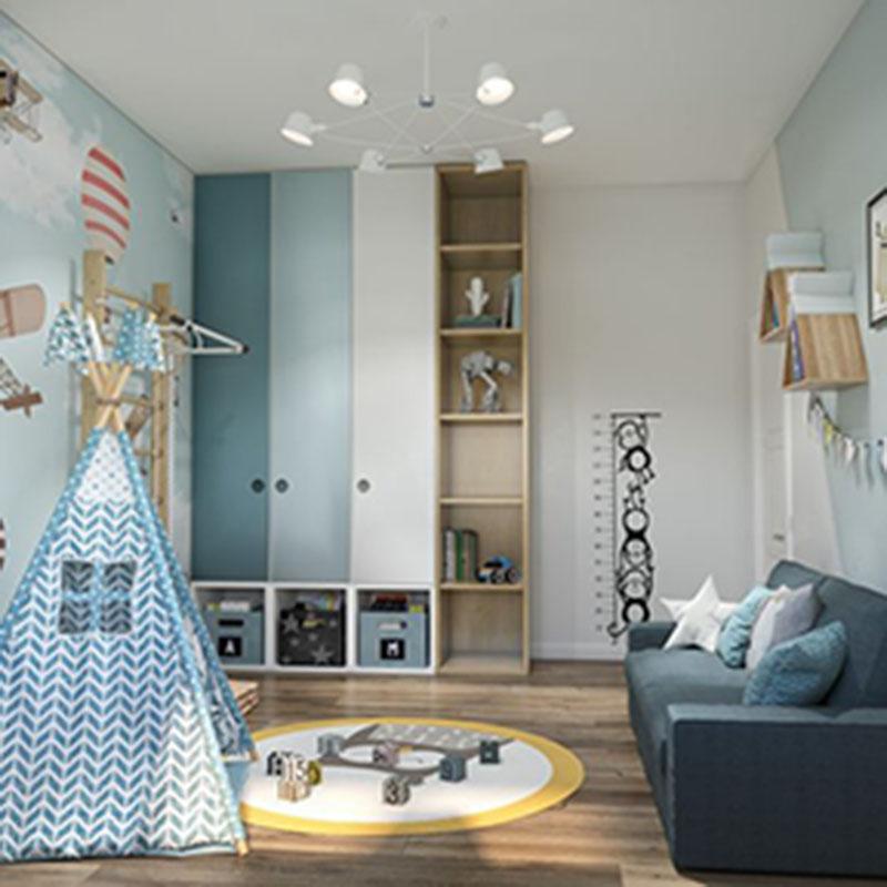 Chú ý chọn vật dụng decor phù hợp cho phòng ngủ bé trai
