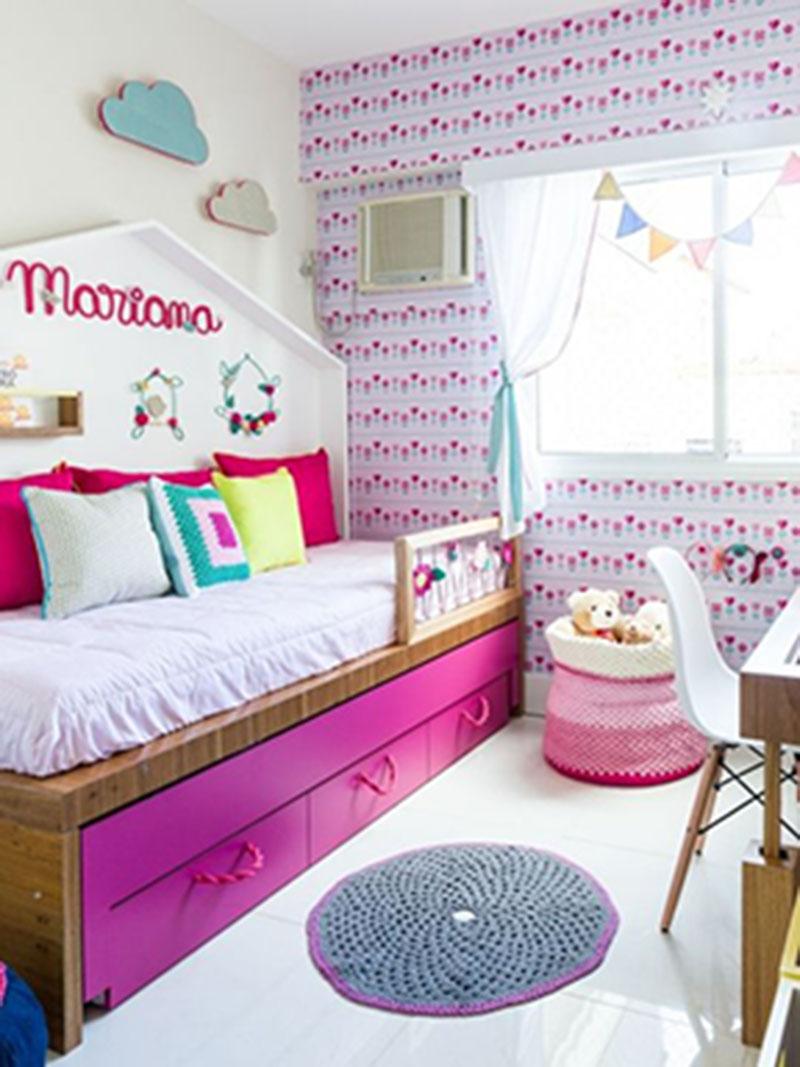 Chú ý những họa tiết trong thiết kế phòng ngủ trẻ em