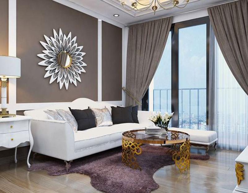 Thiết kế nội thất chung cư 100m2 đẹp theo phong cách tinh tế, màu sắc nhã nhặn