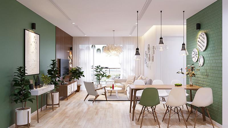 Thiết kế nội thất chung cư 70m2 đẹp và tối ưu không gian - Nội Thất OPAN