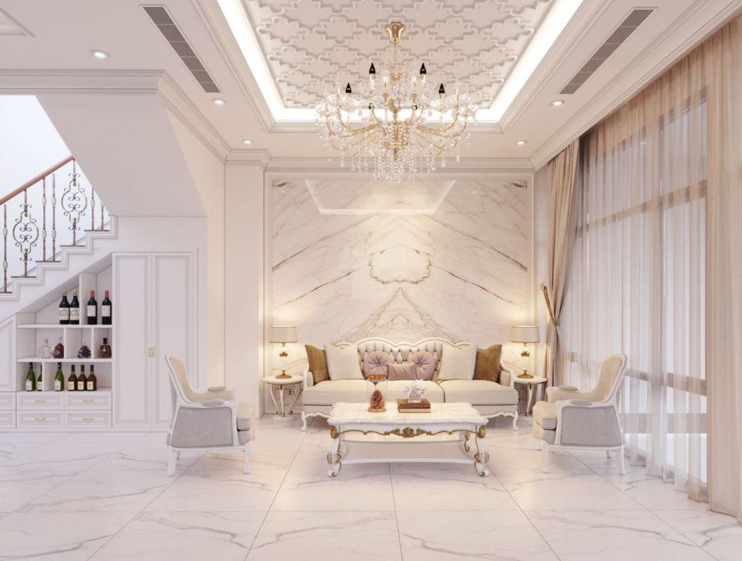 Thiết kế nội thất biệt thự tân cổ điển - Luồng gió tươi mới cho gia chủ