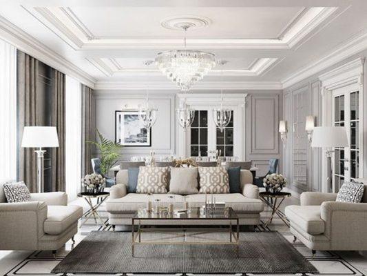TOP 10 mẫu thiét kế nội thất chung cư 100M2 đẹp mê hồn không thể bỏ qua
