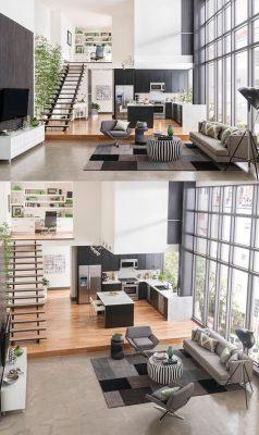 Tổng hợp những ý tưởng thiết kế phòng khách nhà ống 4m hiện đại và thông thoáng