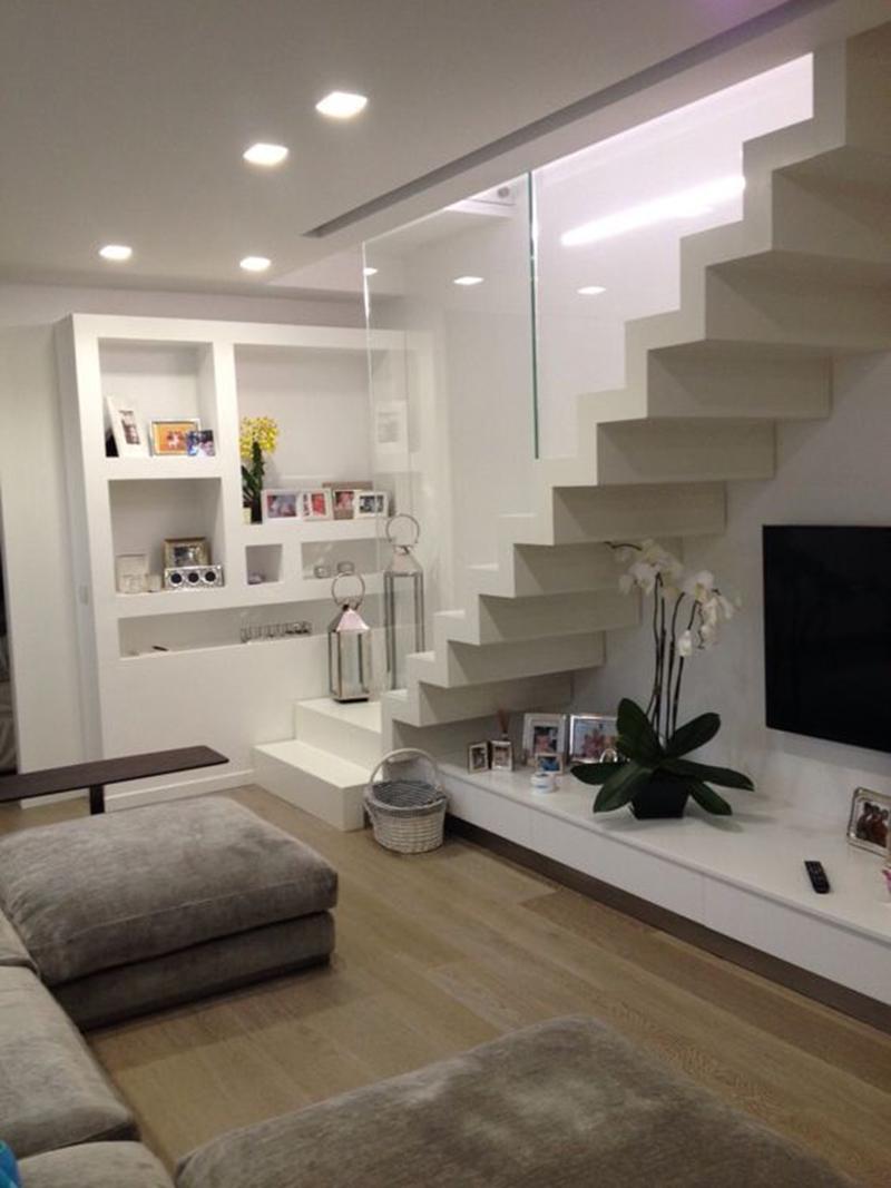 Thiết kế nội thất phòng khách nhà cấp 4 hiện đại diện tích nhỏ, đơn giản