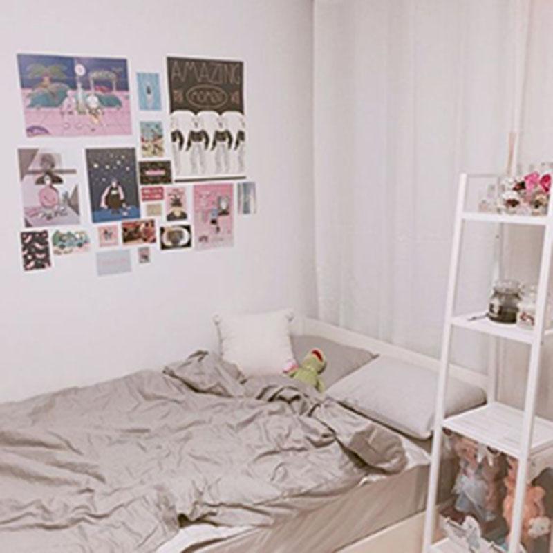 Tận dụng phụ kiện nhỏ xinh cho căn phòng ngủ nhỏ của bạn