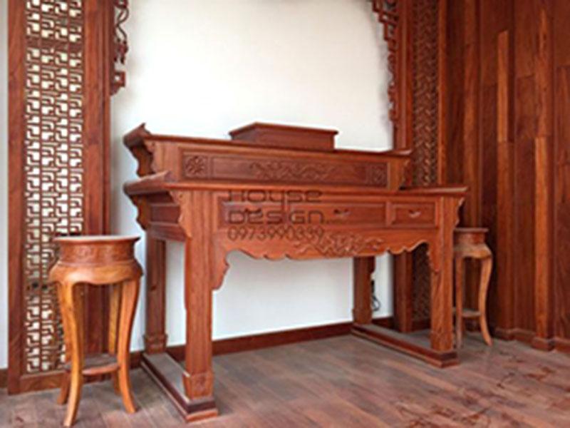 Kích thước bàn thờ hợp phong thủy