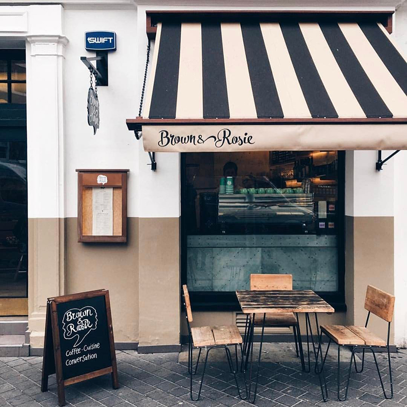 Mặt tiền - Yếu tố quan trọng quyết định sự thành công của quán cafe