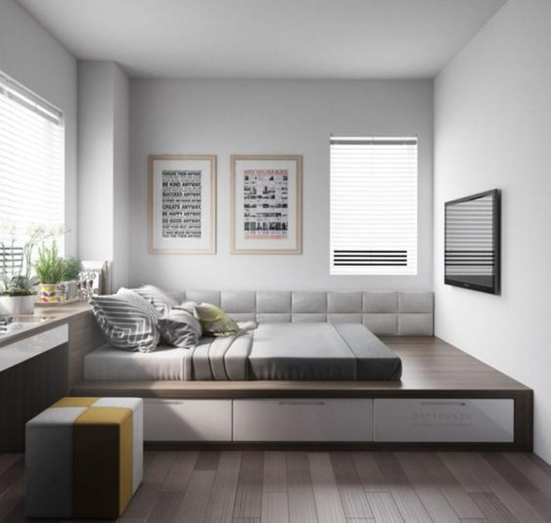Mẫu 10 - Một số mẫu thiết kế nội thất chung cư do OPAN thực hiện