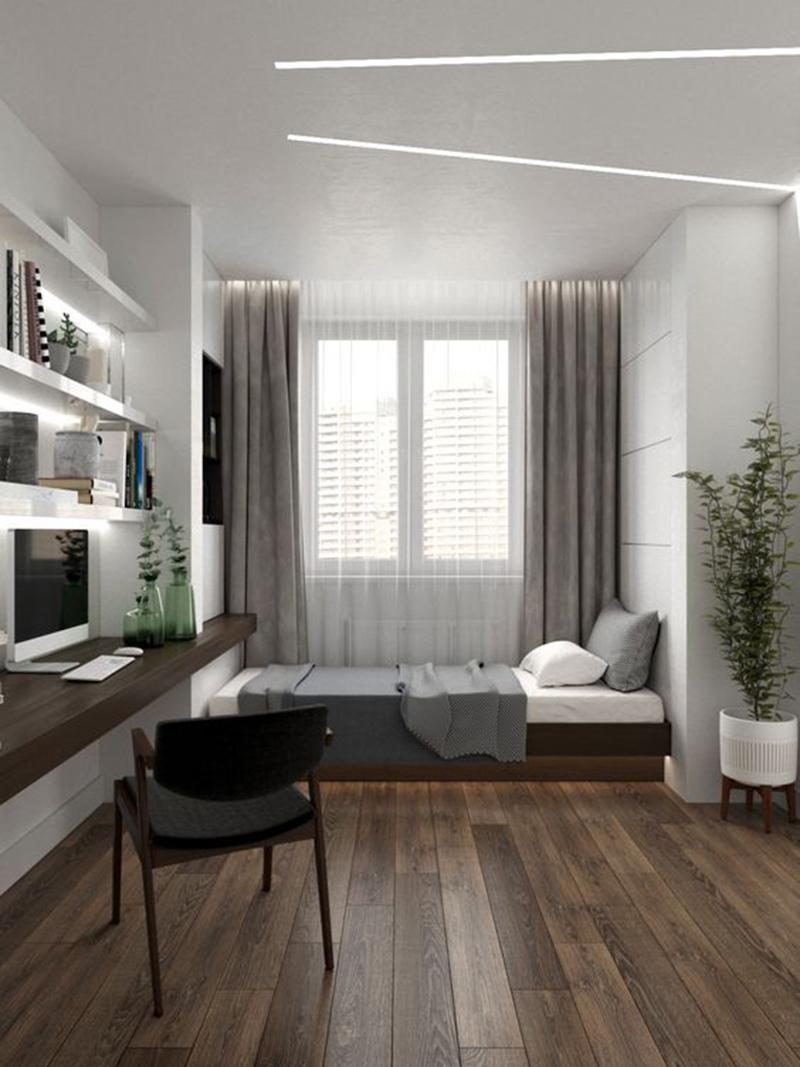 Mẫu 11 - Một số mẫu thiết kế nội thất chung cư do OPAN thực hiện
