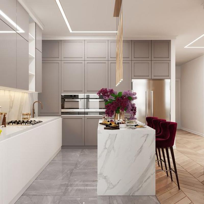 Mẫu 3 - Một số mẫu thiết kế nội thất chung cư do OPAN thực hiện