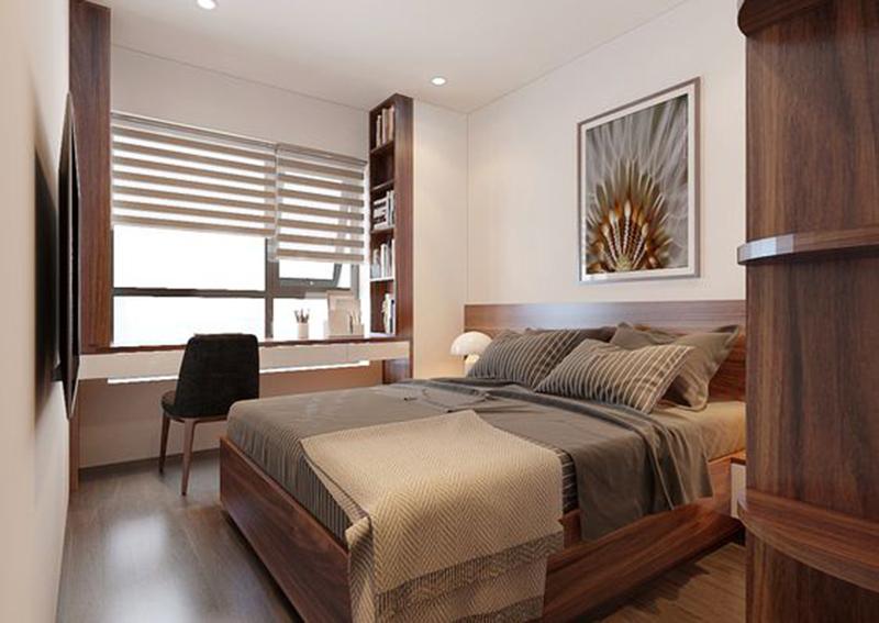 Mẫu 7 - Một số mẫu thiết kế nội thất chung cư do OPAN thực hiện