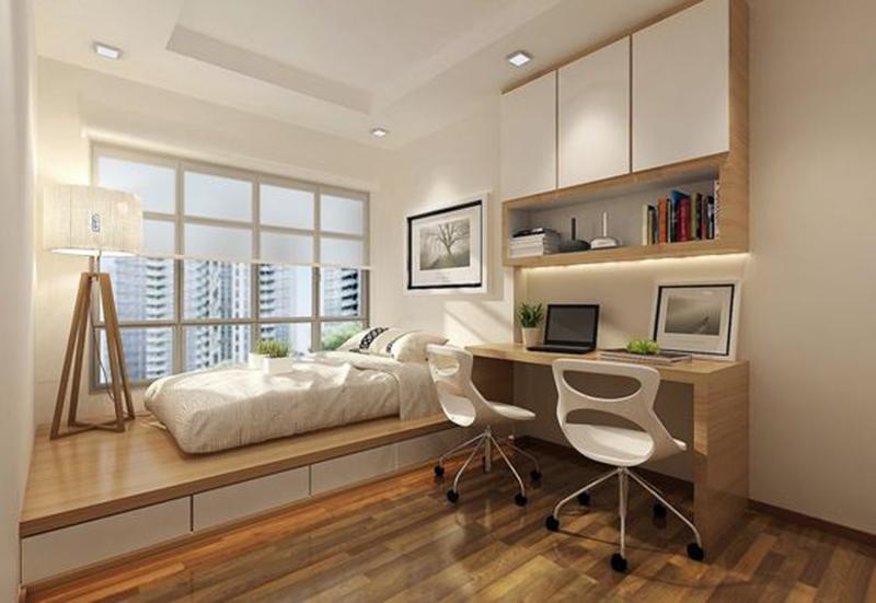 Mẫu 8 - Một số mẫu thiết kế nội thất chung cư do OPAN thực hiện