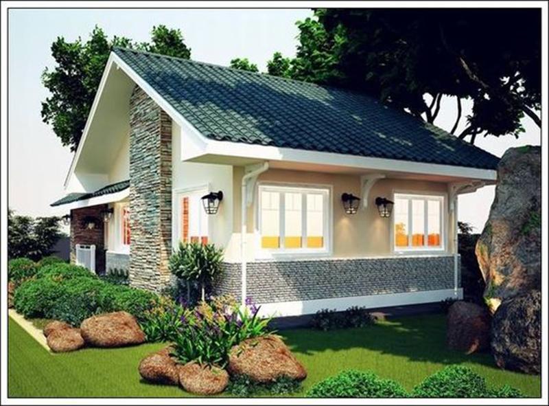 Mẫu thiết kế nhà cấp 4 truyền thống mái thái