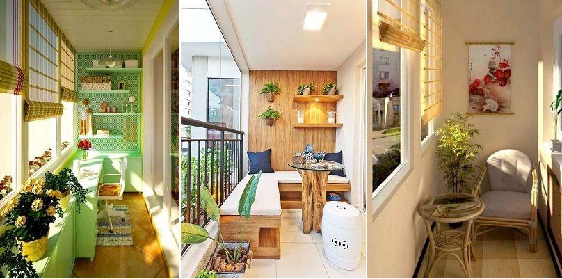Thiết kế ban công theo phong cách nhà ở