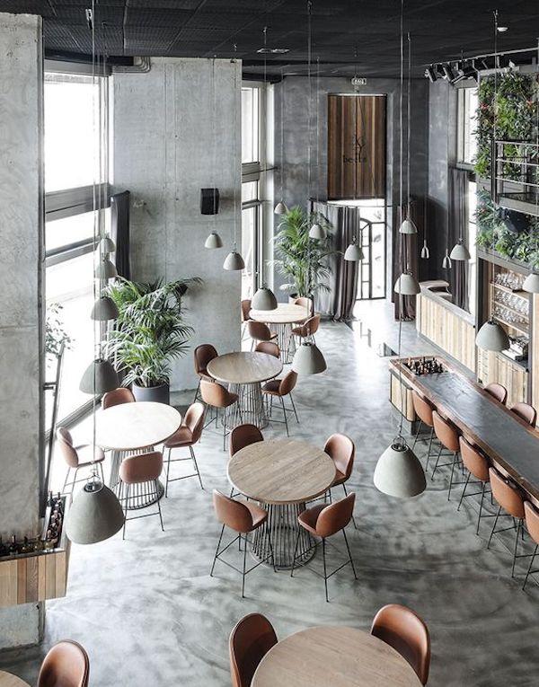 Thiết kế quán cafe nhà ống nhà phố