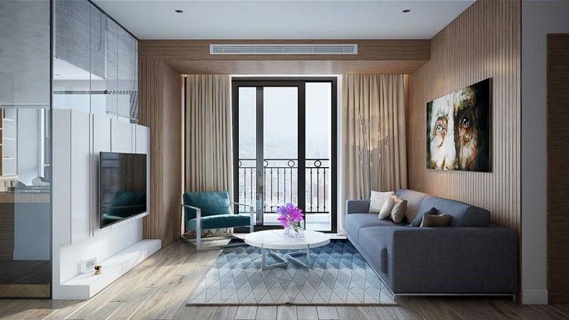 Mẫu phòng khách đơn giản mà đẹp theo phong cách Nhật Bản
