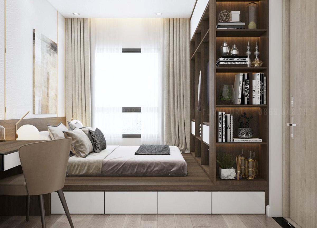 Đồ nội thất thông minh - sự lựa chọn hoàn hảo cho không gian phòng ngủ nhỏ