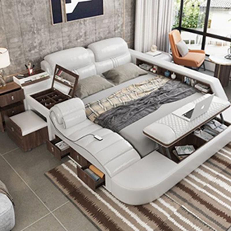 Phòng khách nhỏ hẹp trở nên thoáng đãng với đồ nội thất thông minh