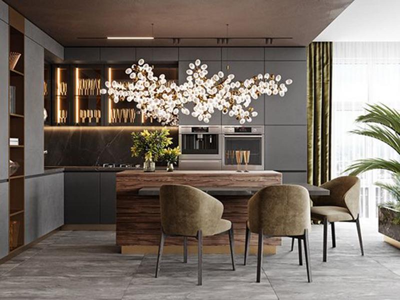 Phòng ăn - Những lưu ý khi muốn nội thất nhà bếp đẹp