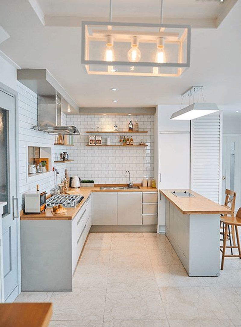 Thiết kế nội thất phòng bếp nhà ống 4m
