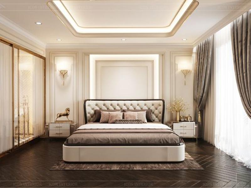 Phong cách Châu âu trong căn hộ 70m2