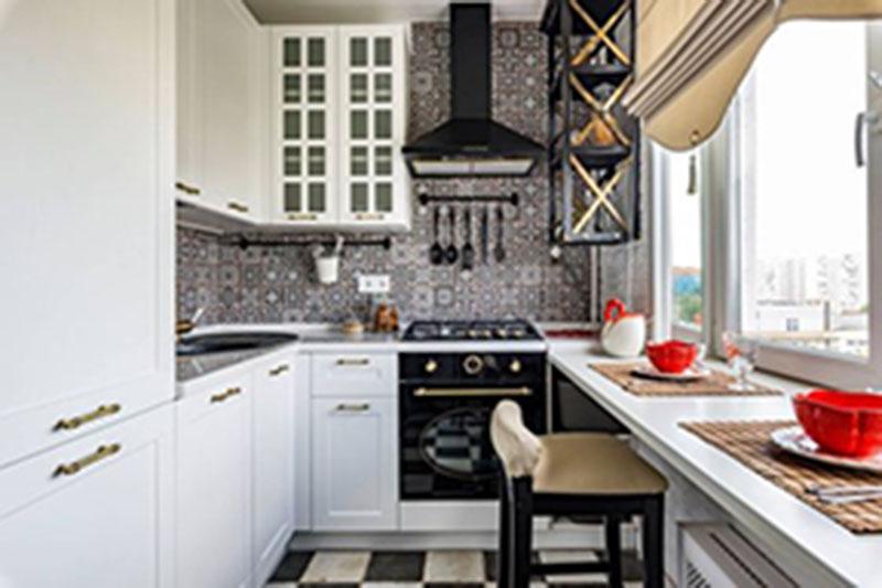 Trang trí nhà bếp đậm nét cổ điển