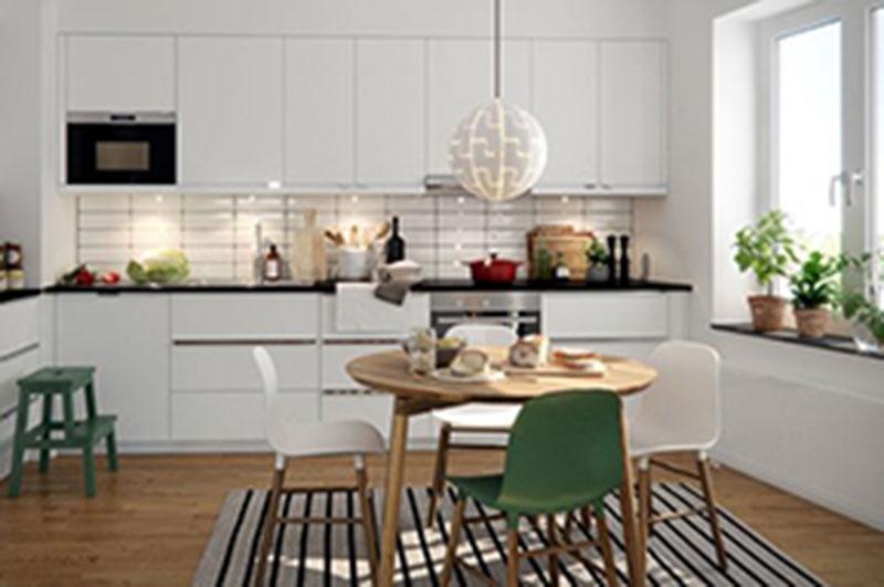 Áp dụng phong cách trang trí công nghiệp cho nhà bếp