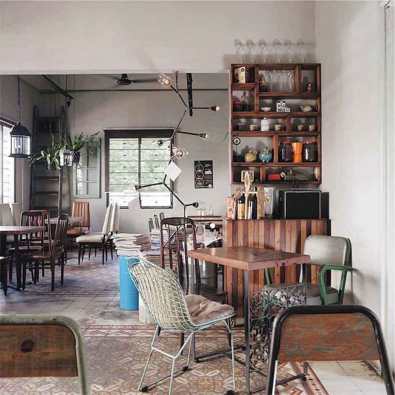 Lãng mạn với phong cách quán cafe vintage