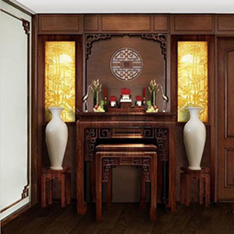 Phòng thờ gia tiên phong cách Trung Hoa