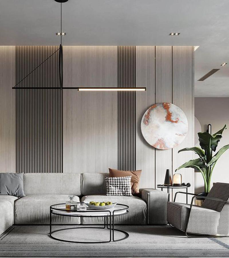 Thiết kế phòng khách chung cư 70m2