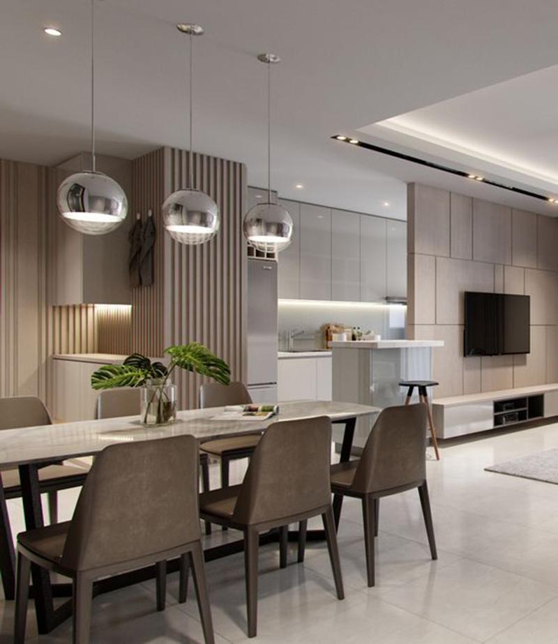 Kinh nghiệm thiết kế nội thất phòng khách
