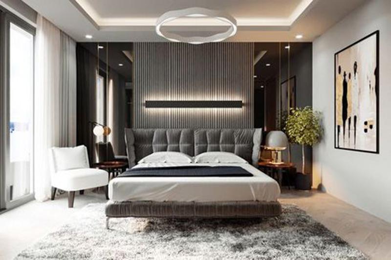 Ngủ ngon hơn với mẫu thiết kế phòng ngủ biệt thự theo phong thủy