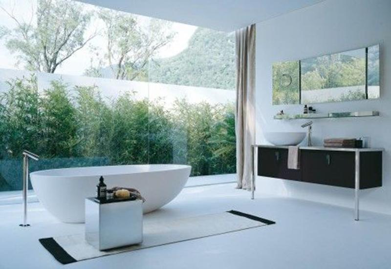 Tiêu chuẩn thiết kế phòng tắm và wc của biệt thự