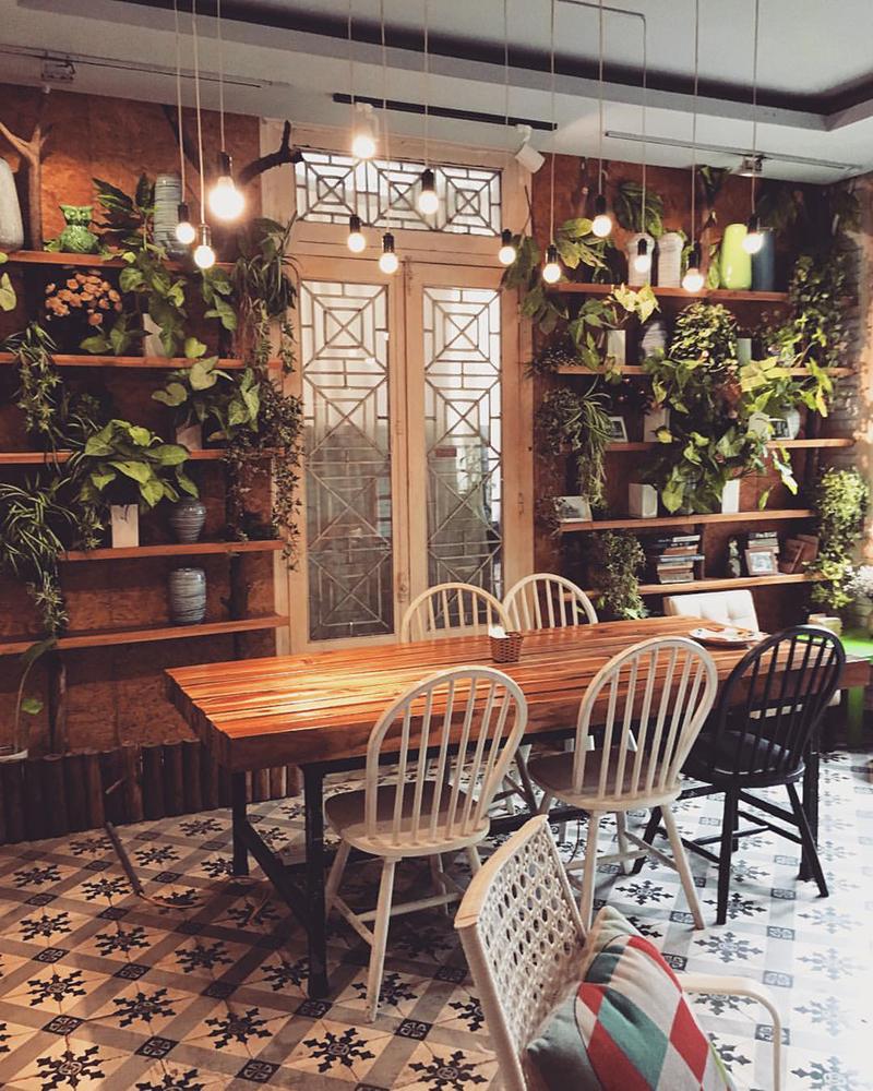 Độc - lạ với quán cafe nhỏ kiểu hoài cổ